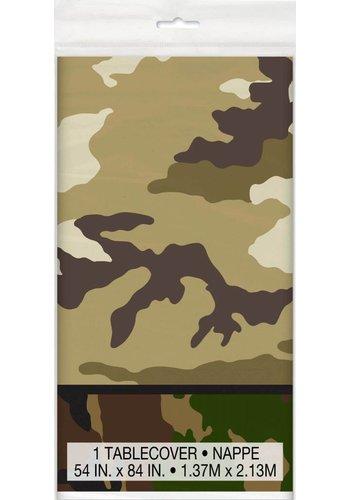 Camouflage Tafelkleed 140x214cm