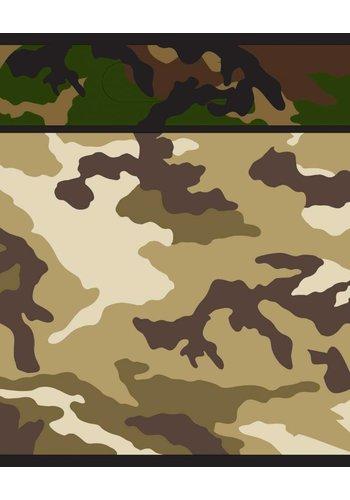 Camouflage uitdeelzakjes - 8 stuks