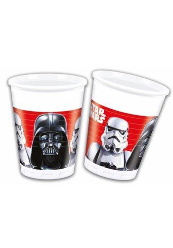 Star Wars Bekertjes 200ml - 8 stuks