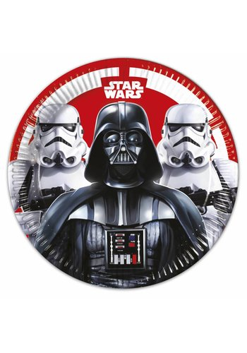 Star Wars Bordjes 23cm - 8 stuks