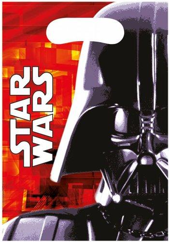 Star Wars Uitdeelzakjes - 6 stuks