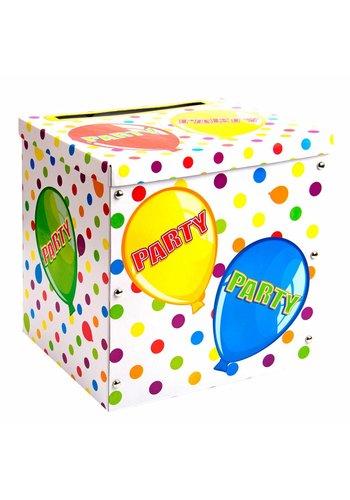 Balloons Gift Box 35x31cm