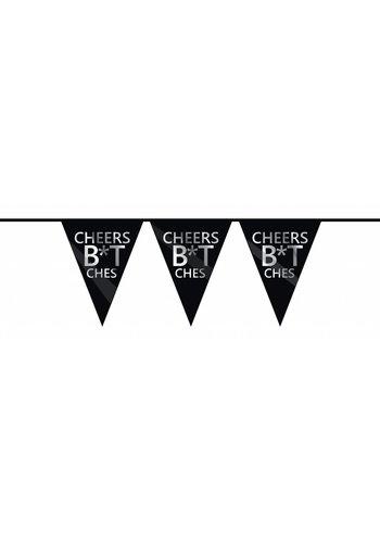 Cheers B*tches Vlaggenlijn - 6 meter