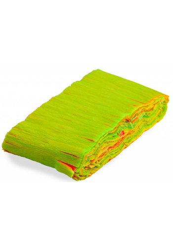 Crepe Guirlande Neon Multi Color - 6 meter