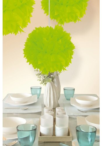 Pompom Neon Groen - 30cm