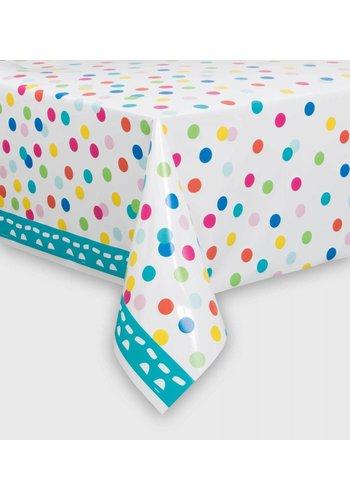 Confetti tafelkleed 140x214cm