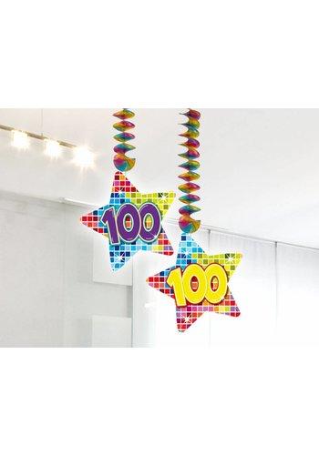 Blocks hangdeco 100 - 2 stuks