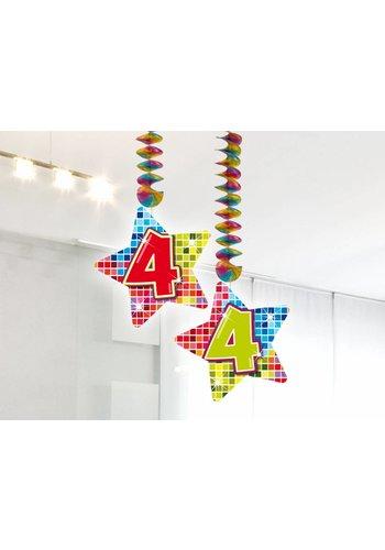 Blocks hangdeco 4 - 2 stuks