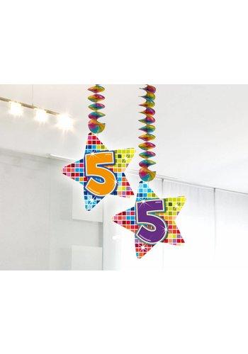 Blocks hangdeco 5 - 2 stuks