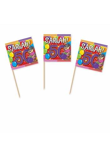 Sarah Explosion prikkertjes - 50 stuks