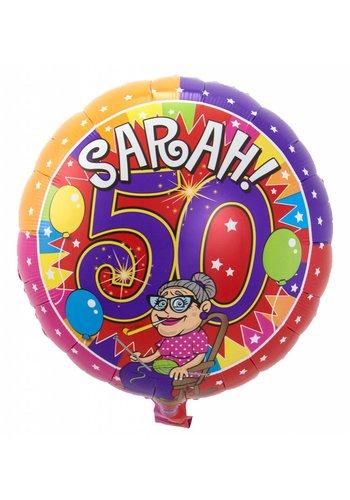 Folieballon - Sarah - 45cm