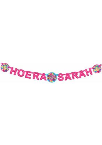 Sarah letterbanner