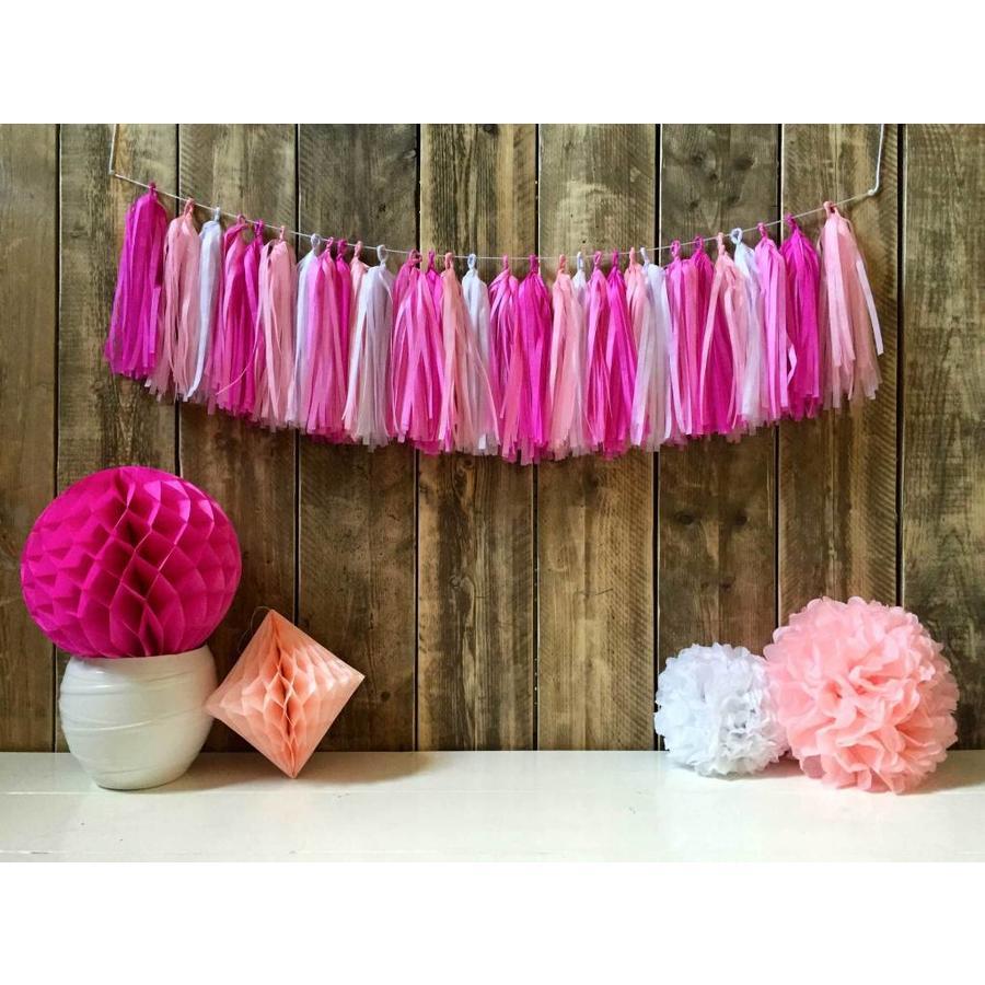 Tassel slinger Pink - 5 meter-1