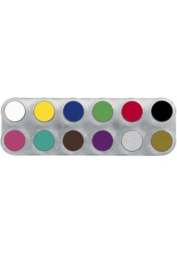 Palette A Water Make-up - 12 kleuren