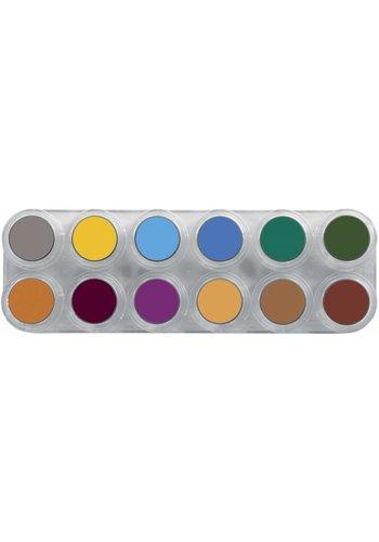 Palette A+B Water Make-up - 24 kleuren