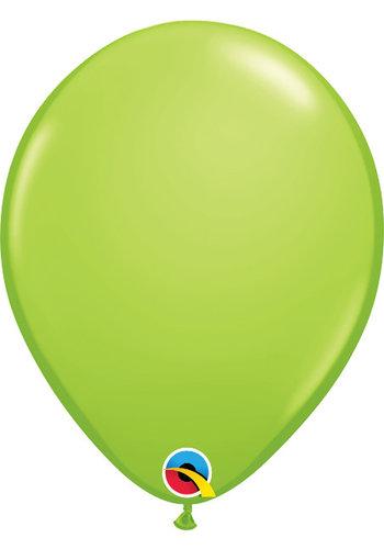 """11"""" Lime Groen - 28cm - 100 stuks"""