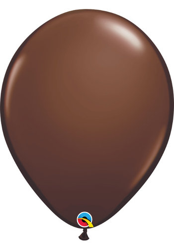 "11"" Chocolate Brown - 28cm - 100 stuks"