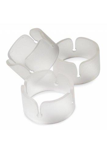 Ballonnen Ring Transparant - 6 stuks