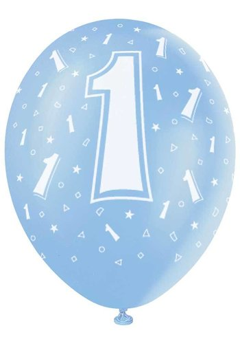 Ballonnen 1 - 30cm - 5 stuks
