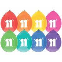 Ballonnen 11 - 30cm - 8 stuks