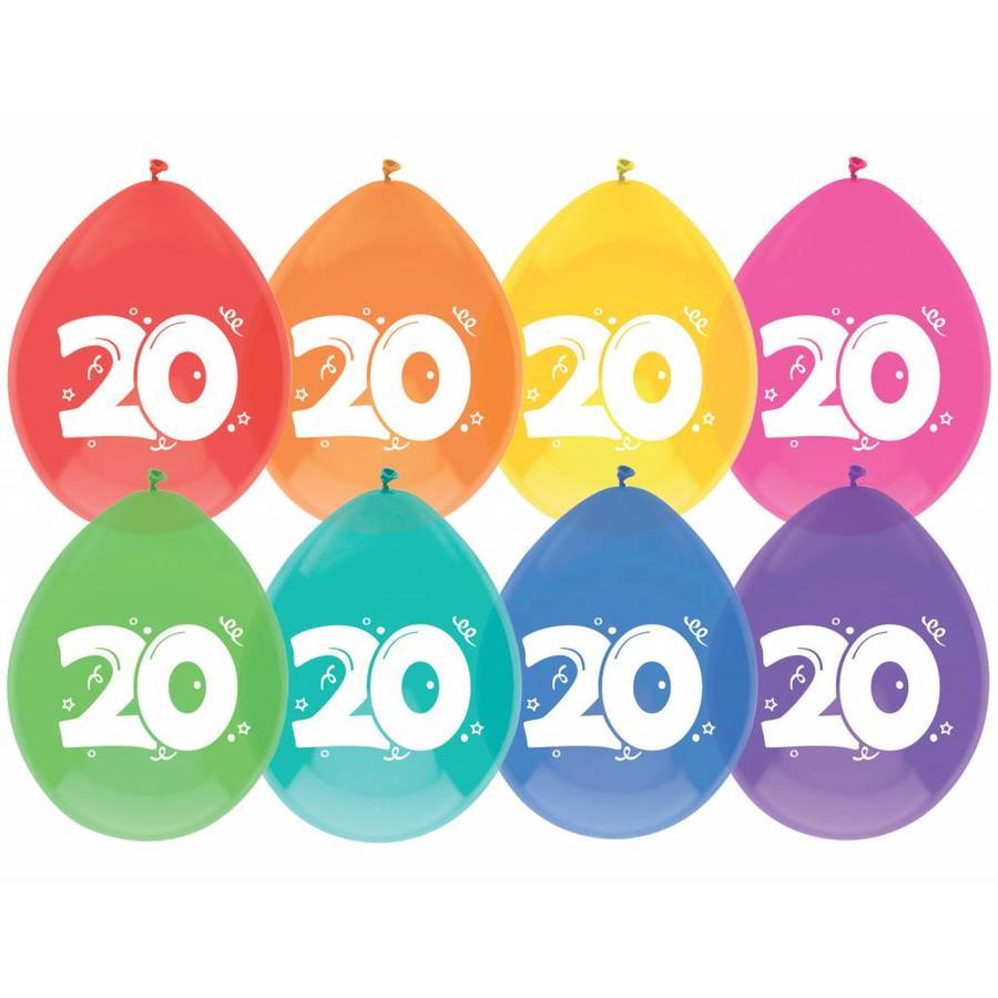 Ballonnen 20 - 30cm - 8 stuks-1