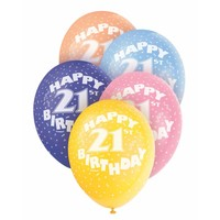 Ballonnen 21 - 30cm - 5 stuks