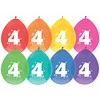 Ballonnen 4 - 30cm - 8 stuks