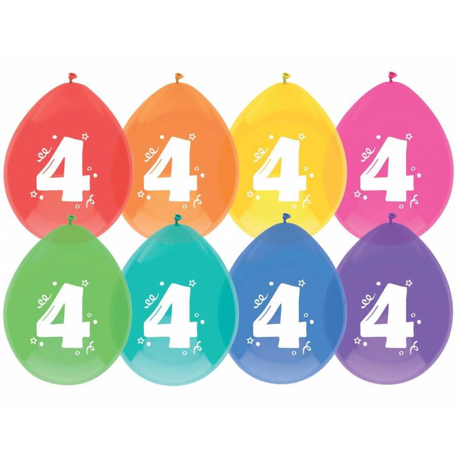 Ballonnen 4 - 30cm - 8 stuks-1