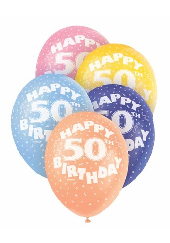 Ballonnen 50 - 30cm - 5 stuks