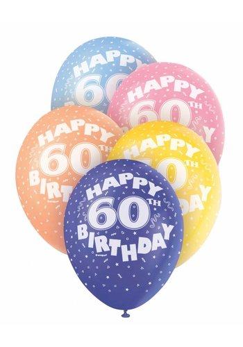 Ballonnen 60 - 30cm - 5 stuks