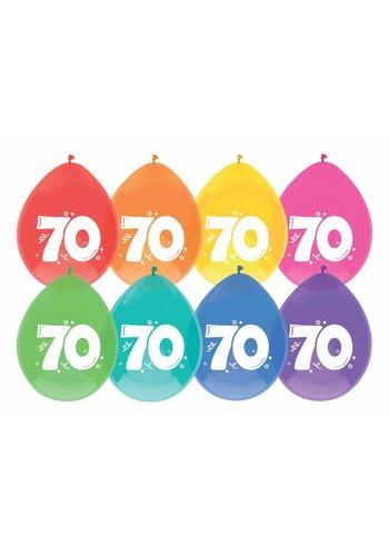 Ballonnen 70 - 30cm - 8 stuks