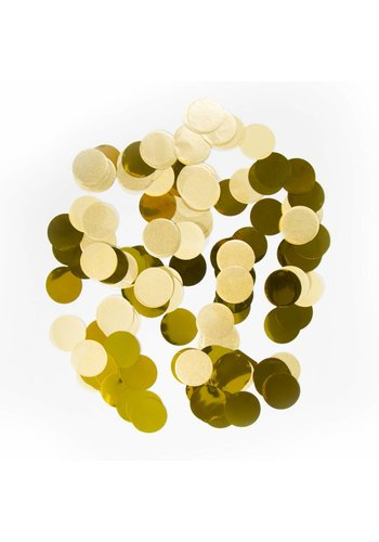 Confetti XL Goud 25mm - 14 gram