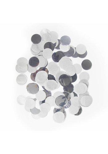 Confetti XL Zilver 25mm - 14 gram