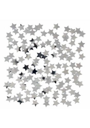 Tafelconfetti Ster Zilver - 15 gram