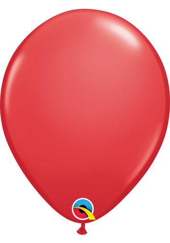 Heliumballon Rood Standaard (28cm)