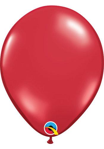 Heliumballon Rood Jewel (28cm)