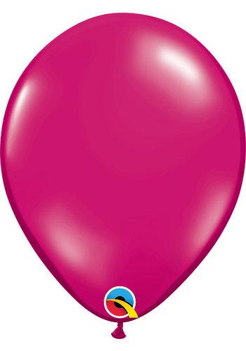 Heliumballon Magenta Jewel (28cm)