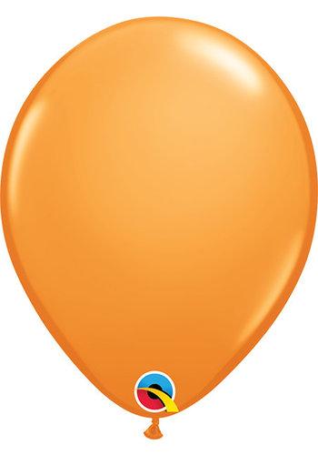 Heliumballon Oranje Standaard (28cm)