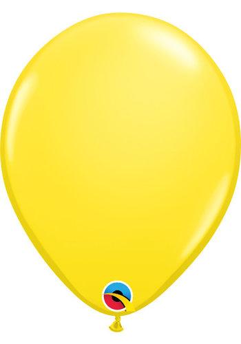 Heliumballon Geel Standaard (28cm)