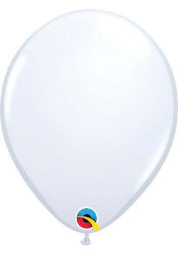Heliumballon Wit Standaard (28cm)