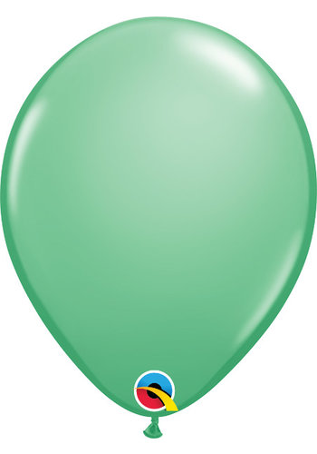 Heliumballon Winter Groen Fashion (28cm)