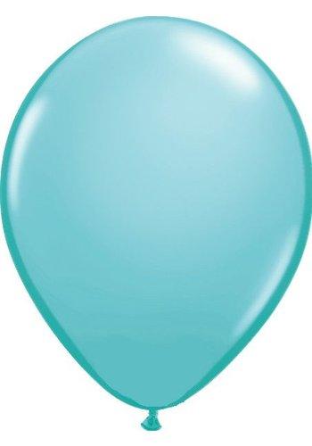Heliumballon Caribbean Blue Fashion (28cm)