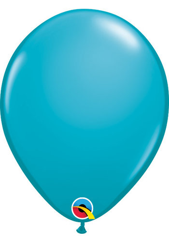 Heliumballon Tropical Teal Fashion (28cm)
