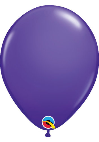Heliumballon Paars Violet Fashion (28cm)