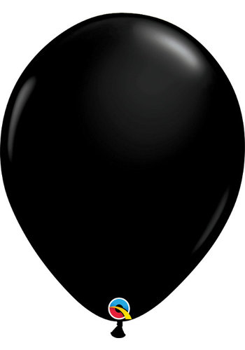 Heliumballon Zwart Fashion (28cm)