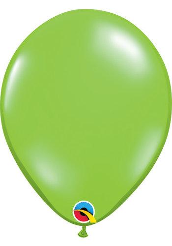 Heliumballon Lime Groen Jewel (28cm)