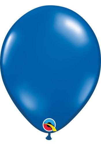 Heliumballon Sapphire Blue Jewel (28cm)