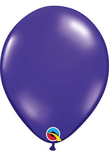 Heliumballon Paars Jewel (28cm)