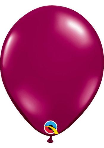 Heliumballon Bordeaux Metallic (28cm)
