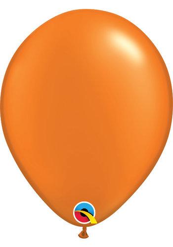 Heliumballon Oranje Metallic (28cm)